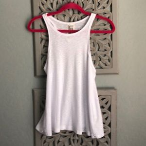 Free People Ribbed Flowy Tank NWOT